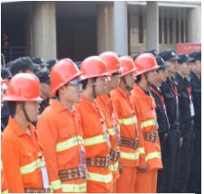 保安服务人员的主要职责和火灾事情的处理程序